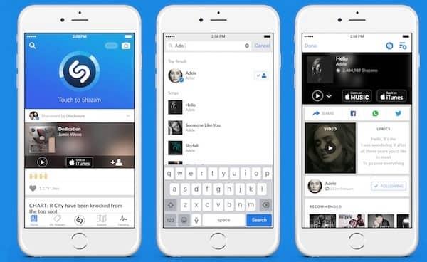 Shazam для iPhone