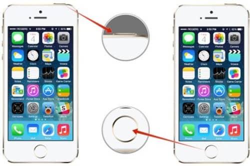 как перезагрузить айфон двумя кнопками